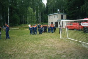 Read more about the article Jugendfeuerwehrwettkampf in Hirschbach August 2003